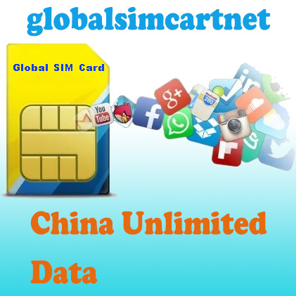 GSC-CN-U: China TRAVELLING INTERNET 4G/LTE GLOBAL SIM CARD Unlimited/ 15 DAYS